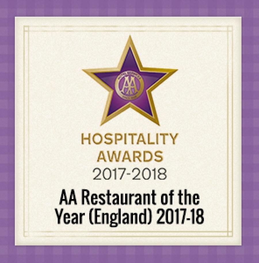 Aa restaurant of year 2017 2018 V2