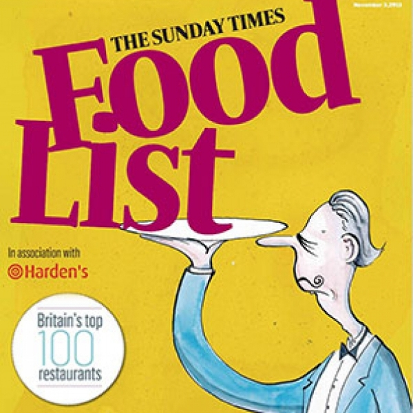 Sunday times food list 20135