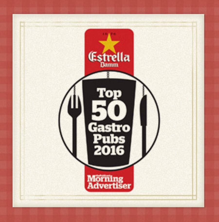 Top 50 gastro pubs 2016